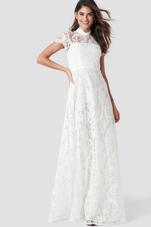 Ivory Siren Maxi Dress
