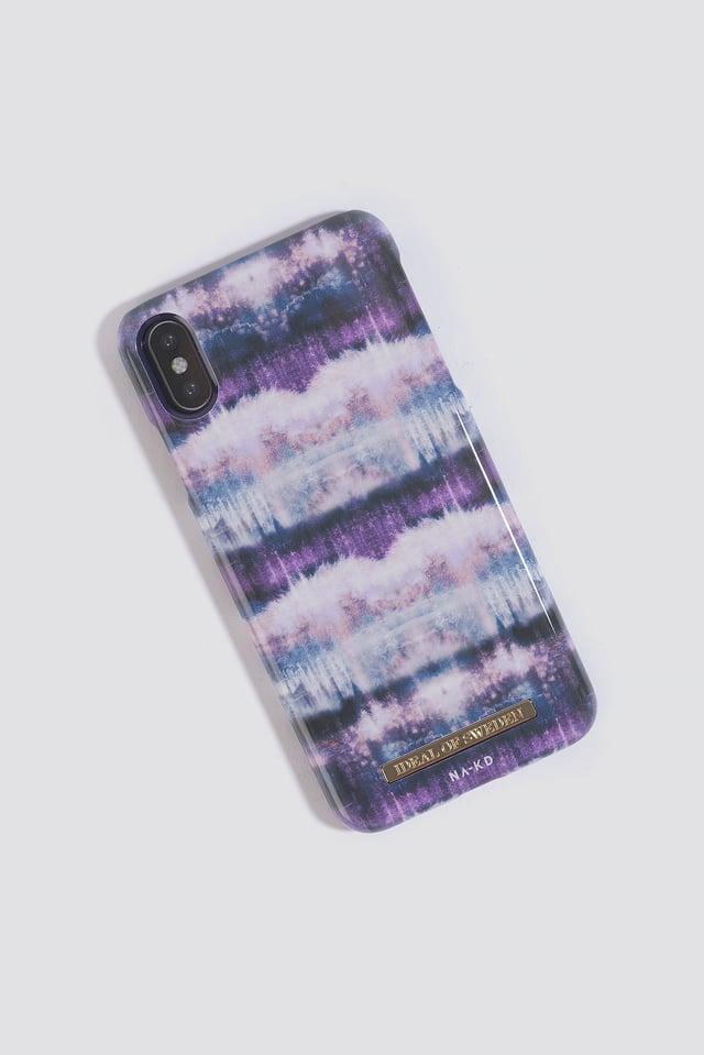 iPhone X/XS Max Case Lavender Rain