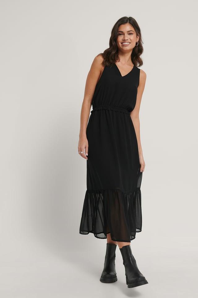 Imam Maxi Dress Black