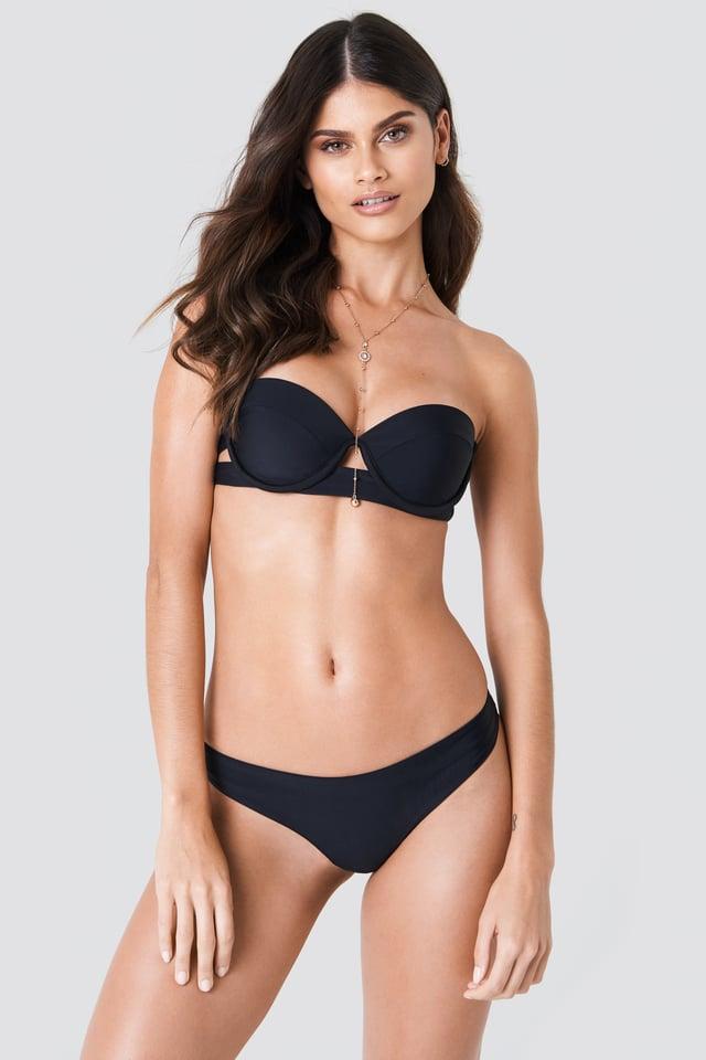 Plain Bikini Briefs Black