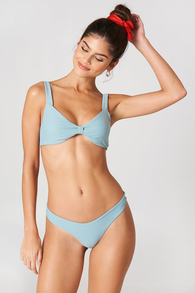 V-shaped Bikini Panty Deep Sea