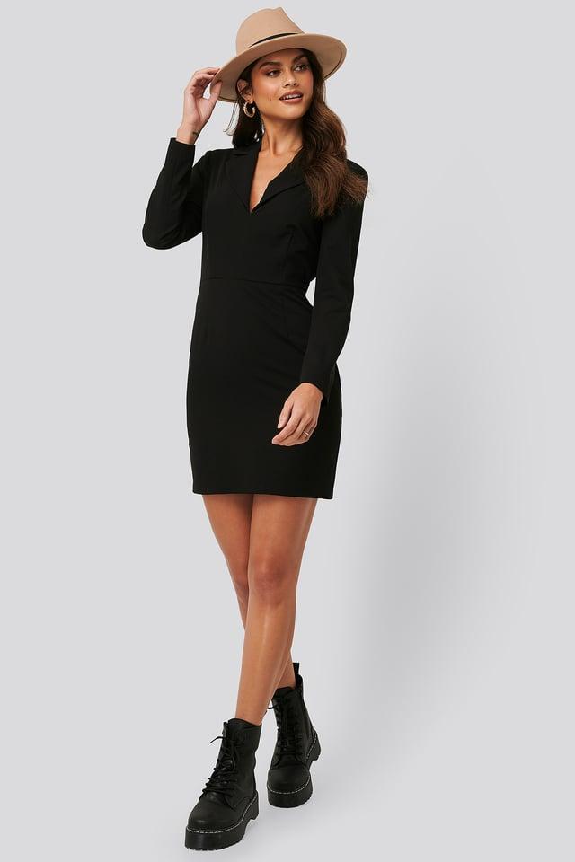 Festlig Kostymklänning Black