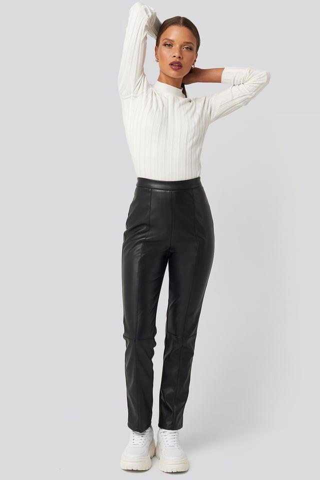 PU Leather Pants Karo Kauer x NA-KD