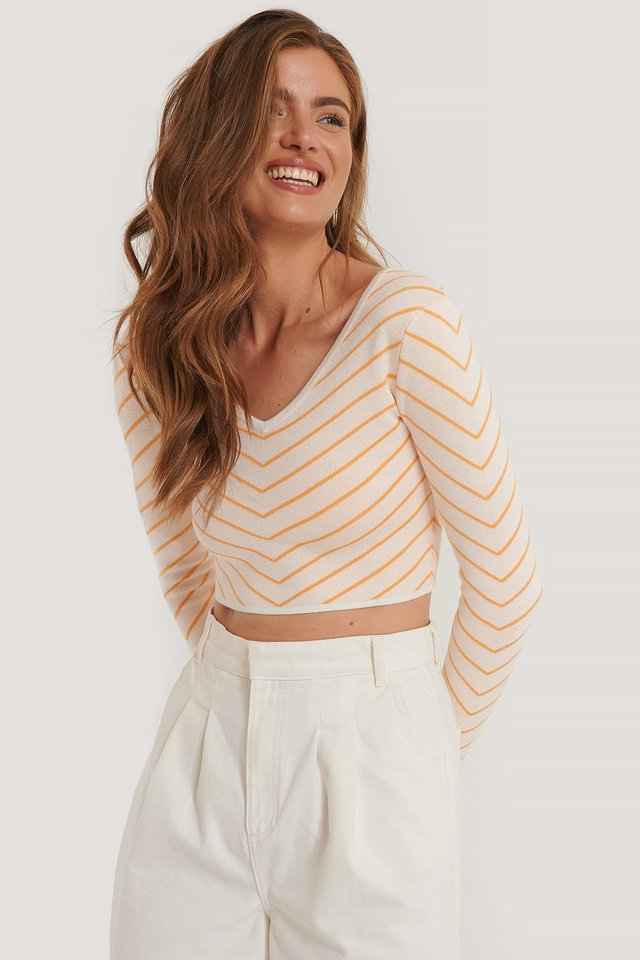 Crop Top Stripe