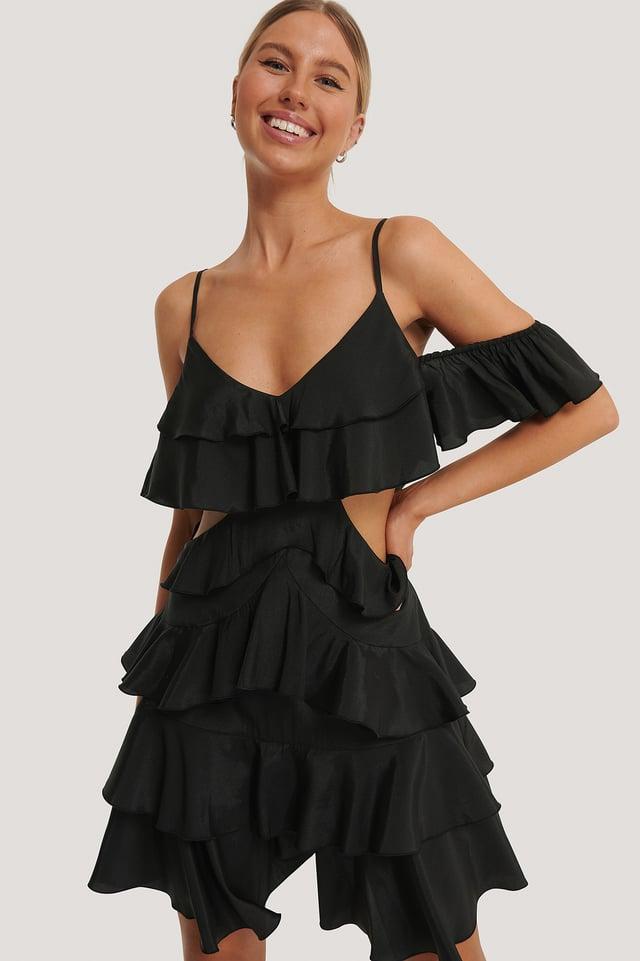 Vestido Mini Holgado Black
