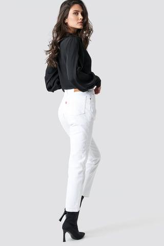 Neutral 501 Crop Jeans
