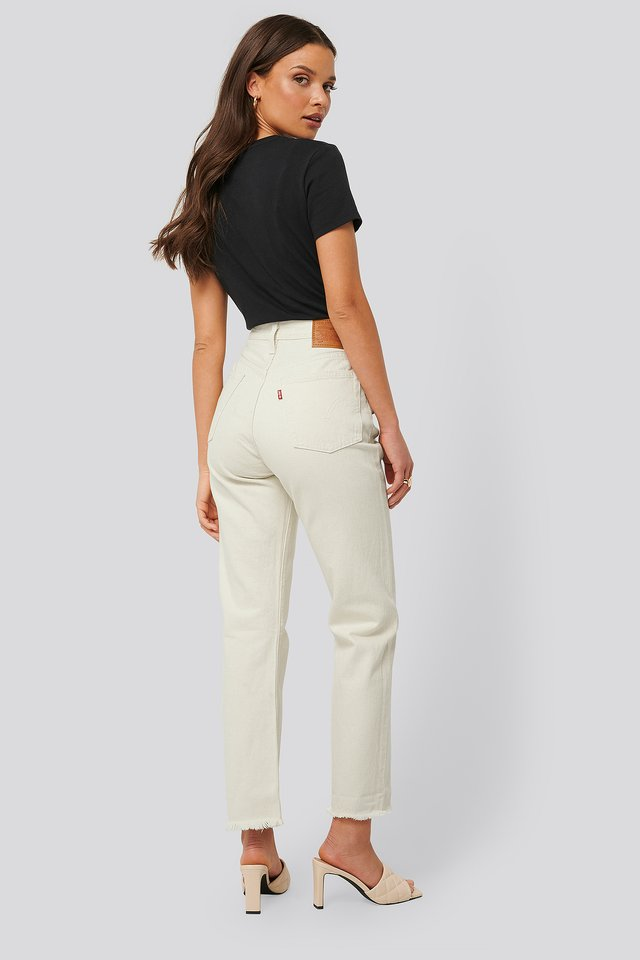 Kurze Jeans Neutral Ground