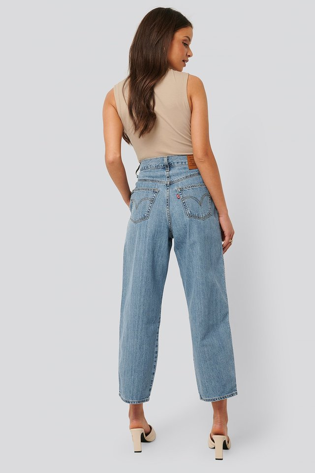 80s Balloon Leg Jeans The Yokes On You