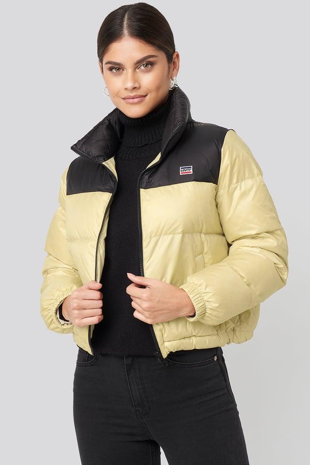Francesca Down Puffer Jacket Sandshell