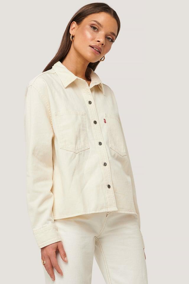 Gracie Shirt Ecru