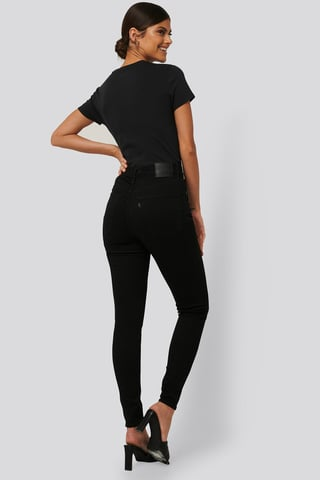 Black Galaxy Mile High Super Skinny Black Galaxy