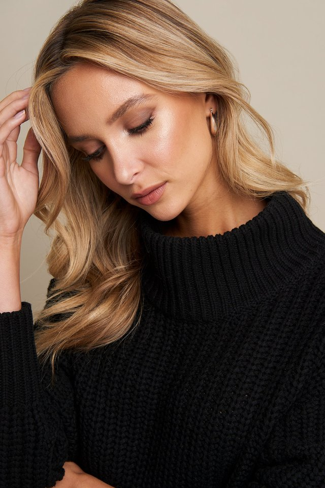 Chunky Sweater Black
