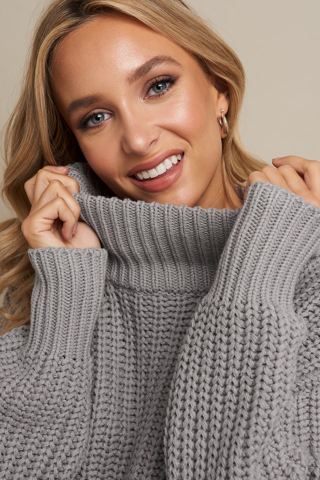 Chunky Sweater Grey