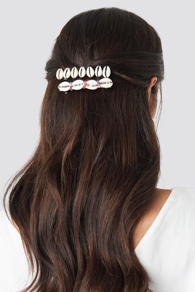 Manila 2-Pack Hairclip Gold