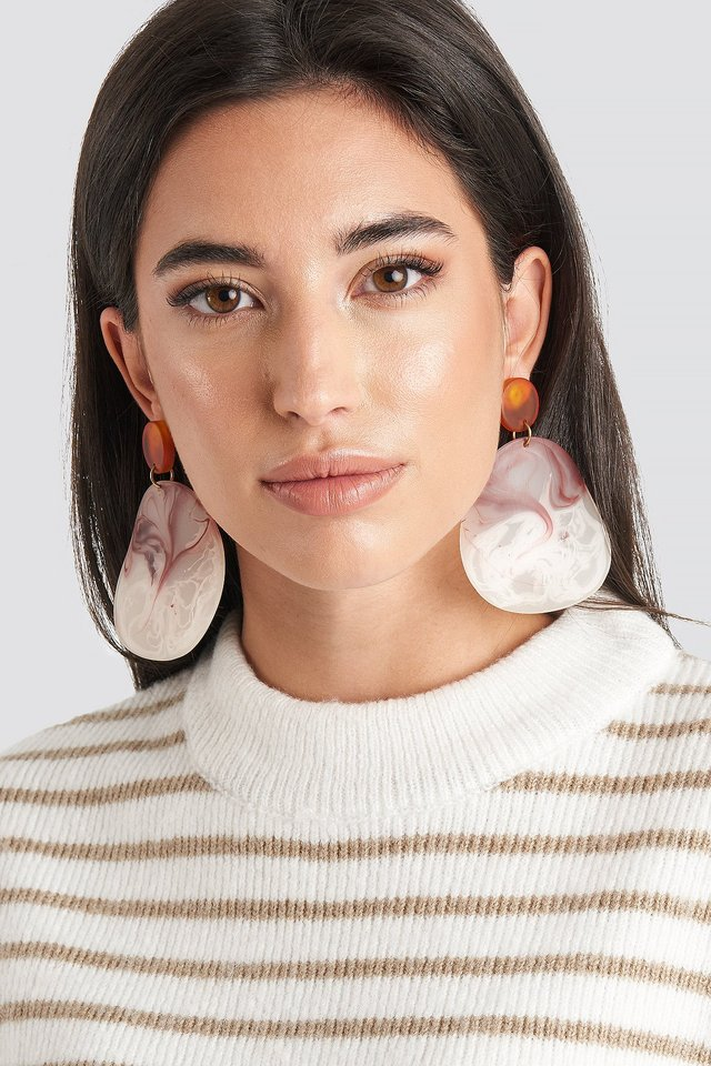 Pink Akili Earrings