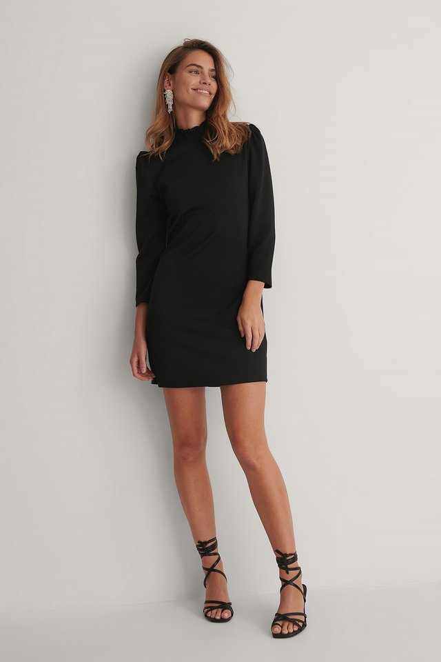 Angeles Mini Dress Black