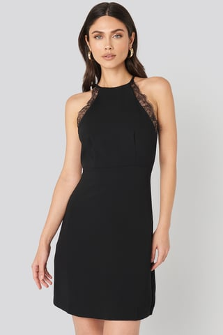 Black Antonia Dress