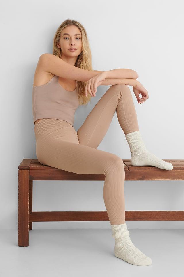 Nude Apolo Leggings