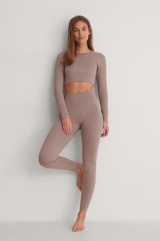 Pastel Purple Legging
