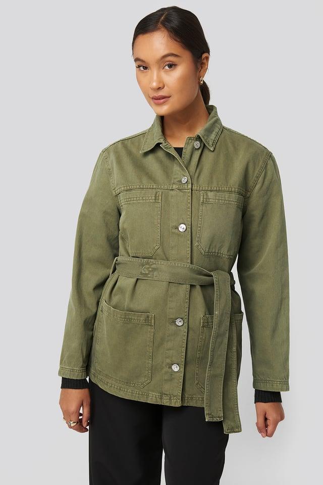 Army Jacket Khaki