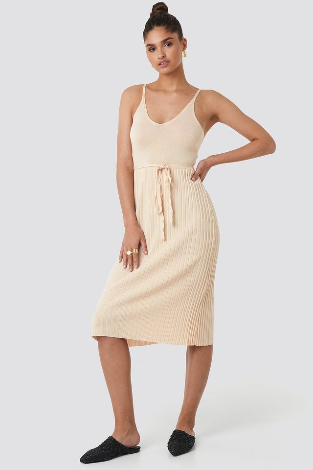 Baleries Dress Beige