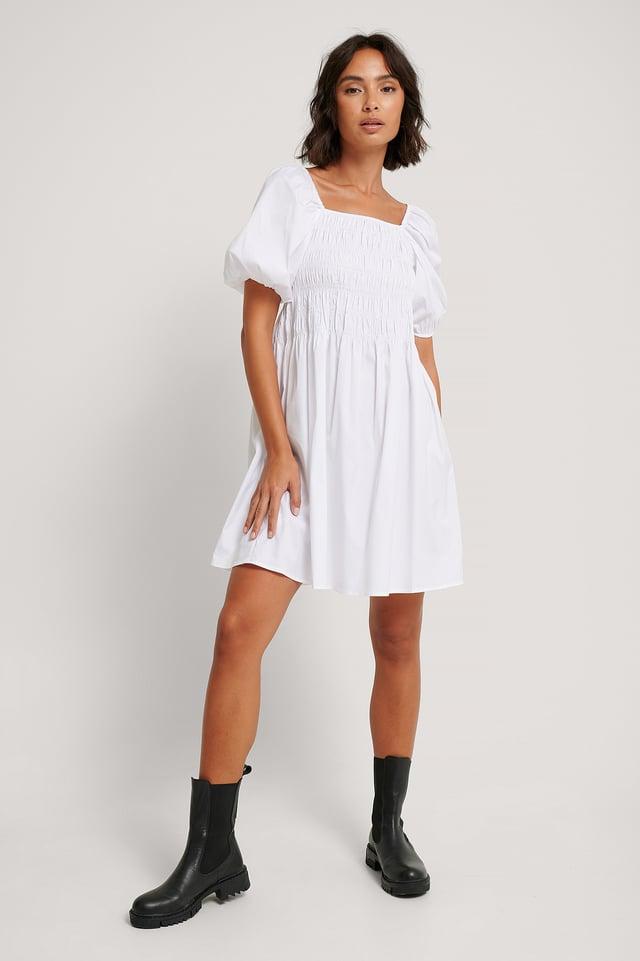 Beatriz Dress Offwhite