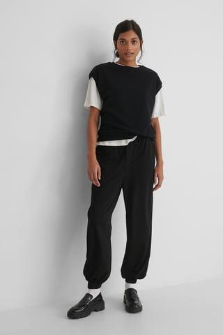 Black Bombay Trousers