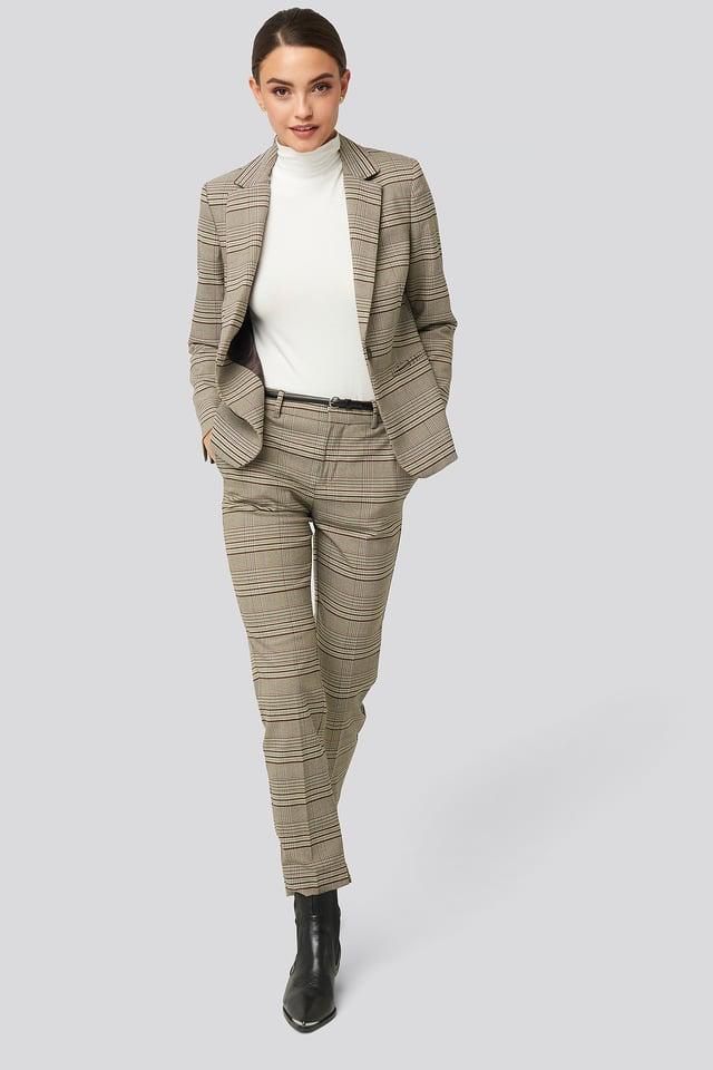 Borecuad Trousers Brown