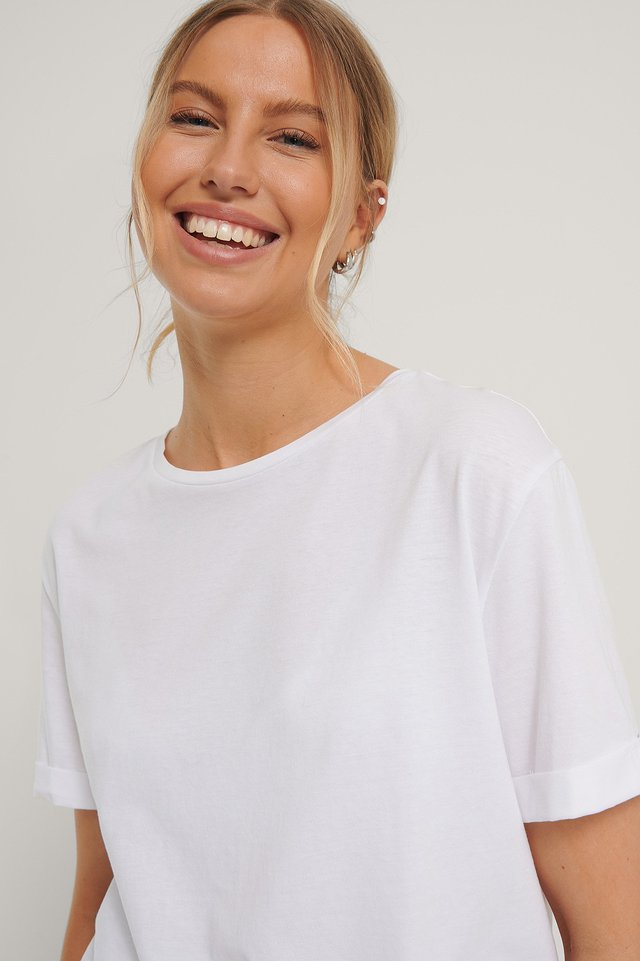 White Ekologisk T-shirt
