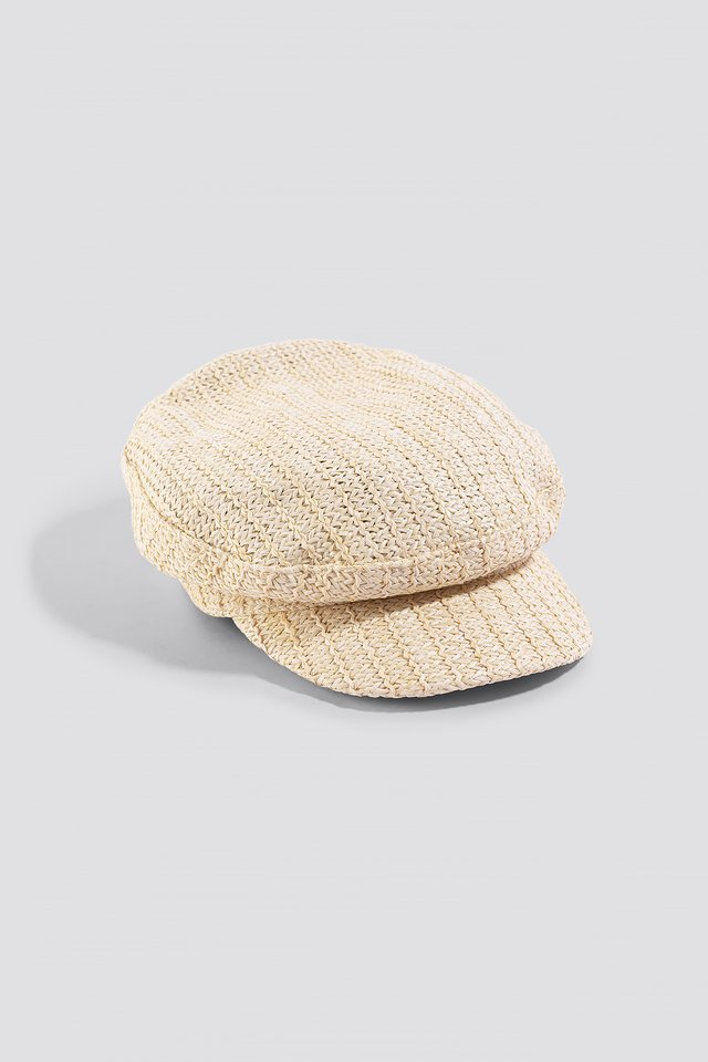 Beige Capi Hat