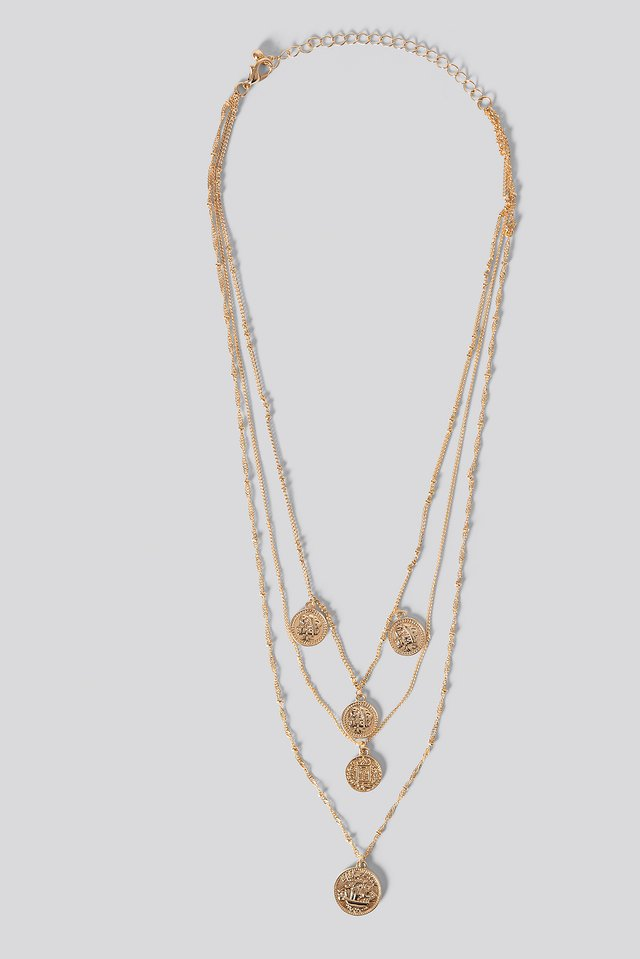 Claire Necklace Gold