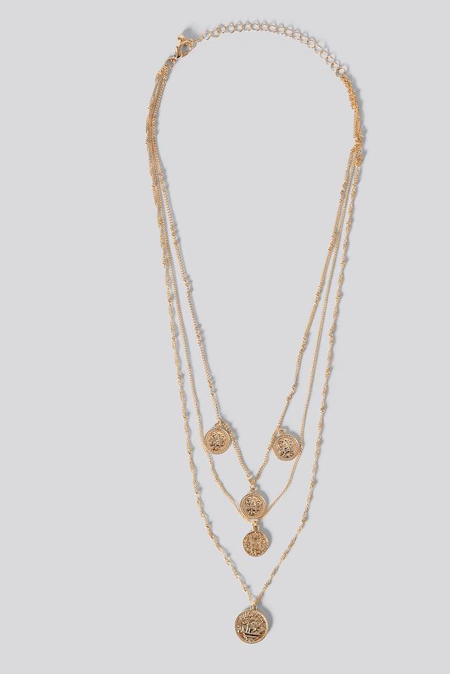 Claire Necklace Gold