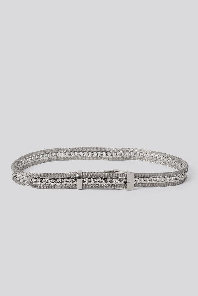 Clubbing Belt Silver
