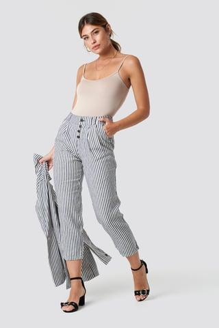 Ecru Coco Trousers