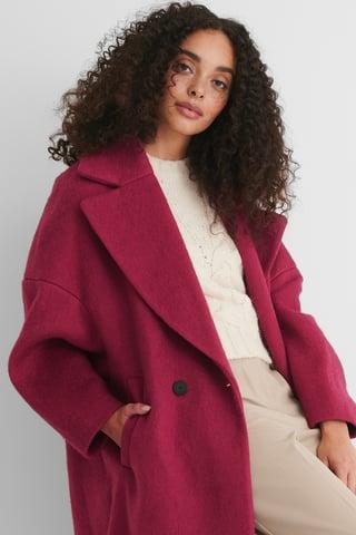 Fuchsia Coctel Coat