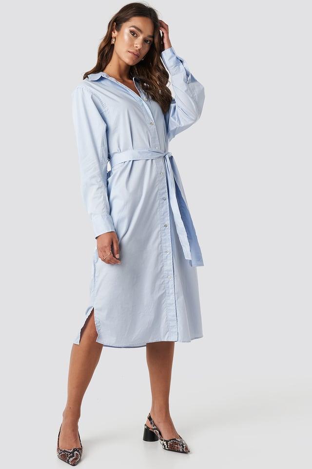 Cuscus Dress Light Blue