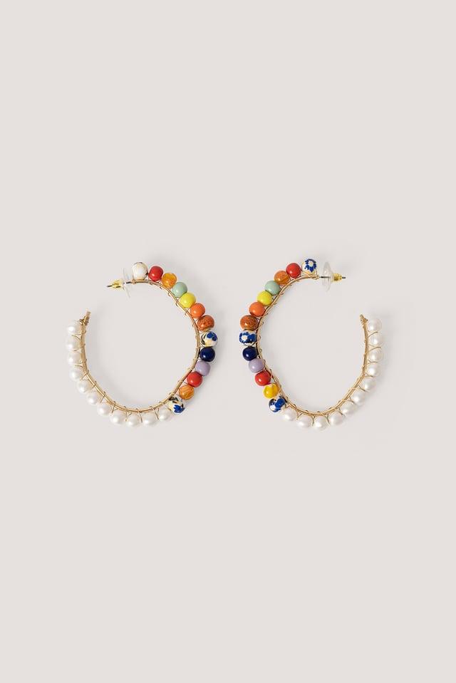 Diesa Earrings White Pearl