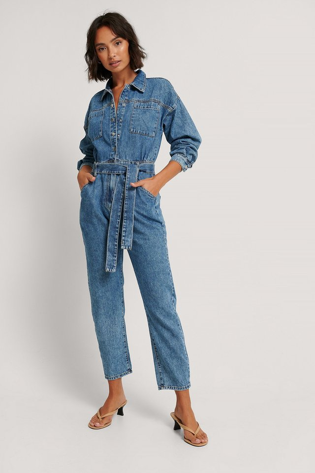 Denim Elodie Jumpsuit