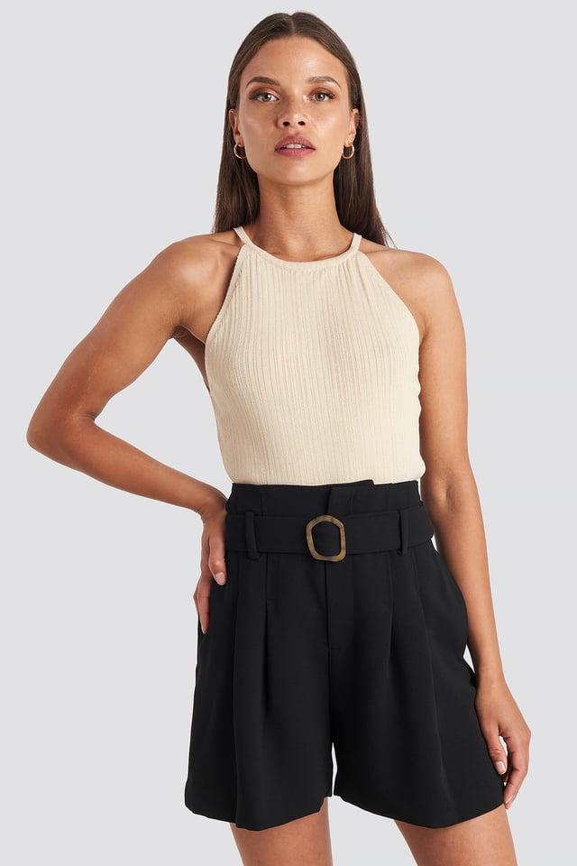 Fancy Shorts Black