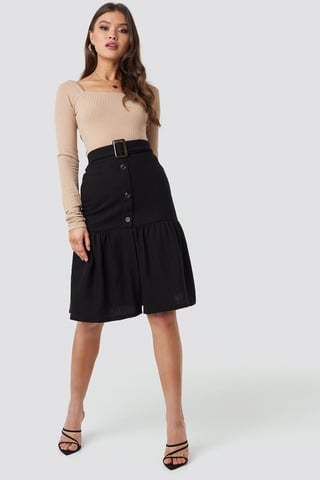 Black Fasis Skirt