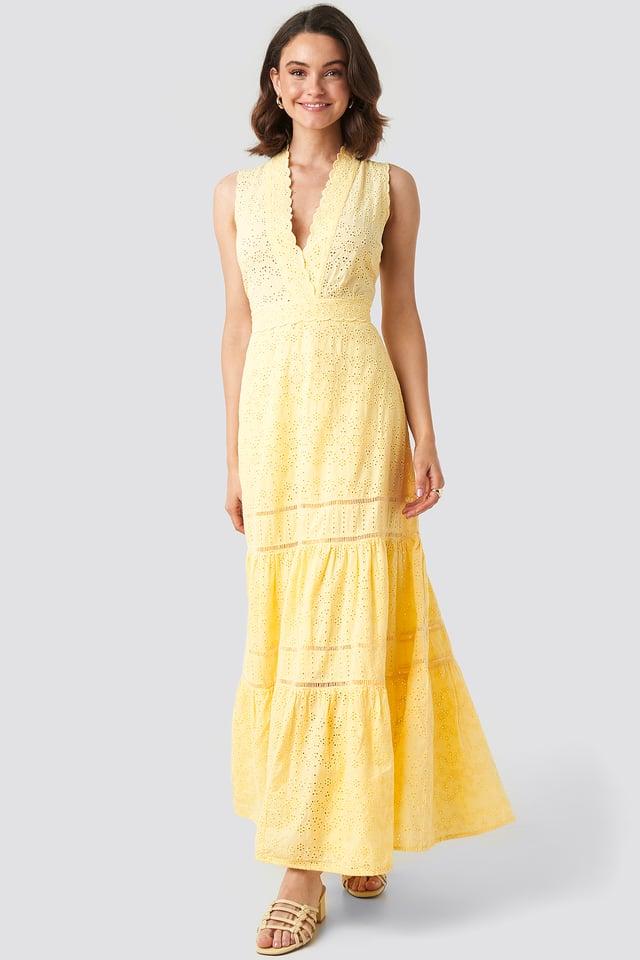 Formen Dress Pastel Yellow