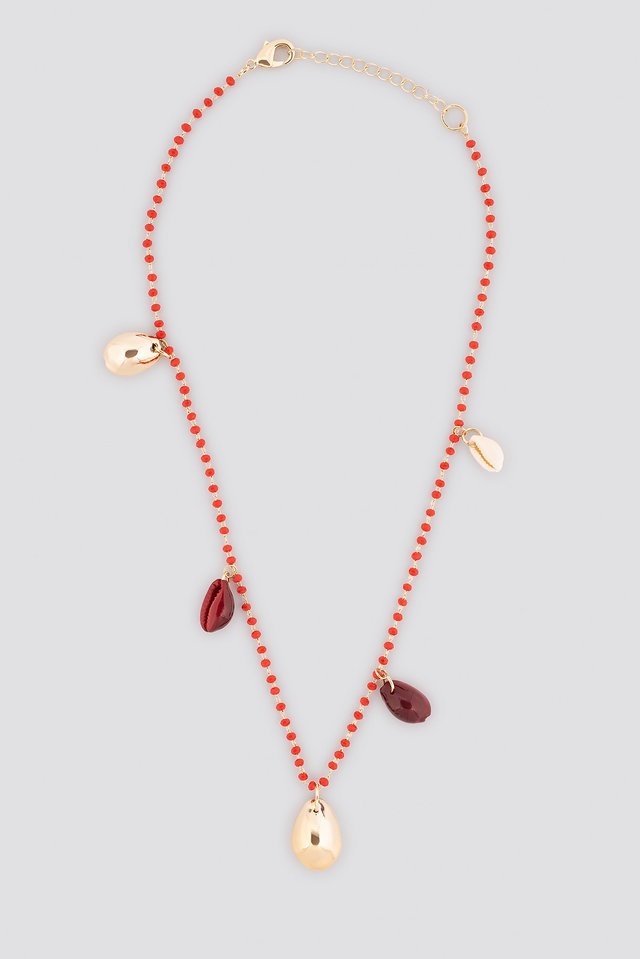Fui Necklace Red