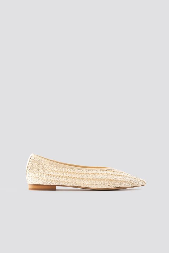 Gaia Shoes Beige