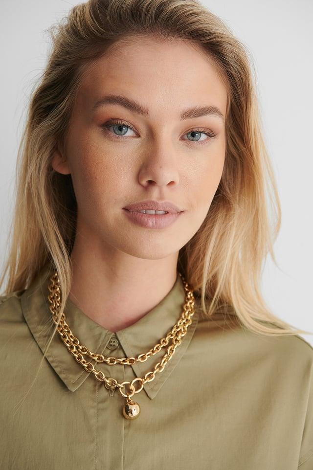 Gold Ingrid Necklace
