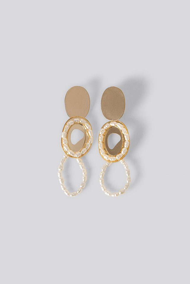 Gold Irina Earrings