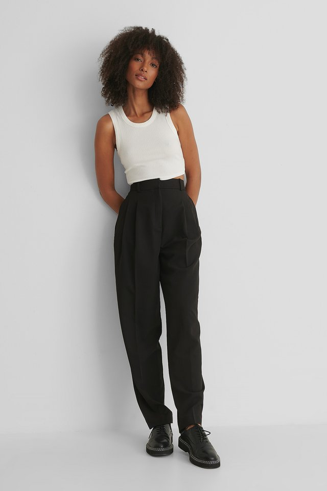 Isabel Trousers Black