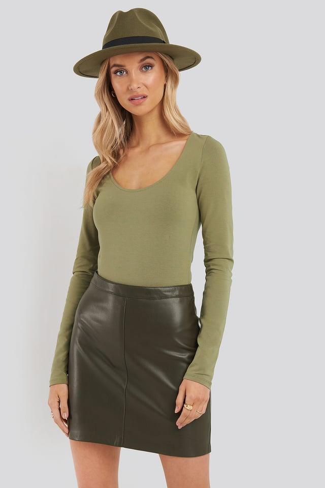 Jordina Skirt Khaki