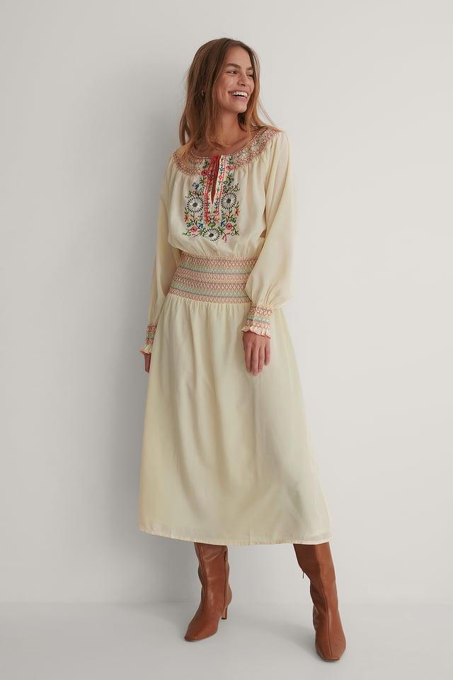 Lea Dress Light Beige