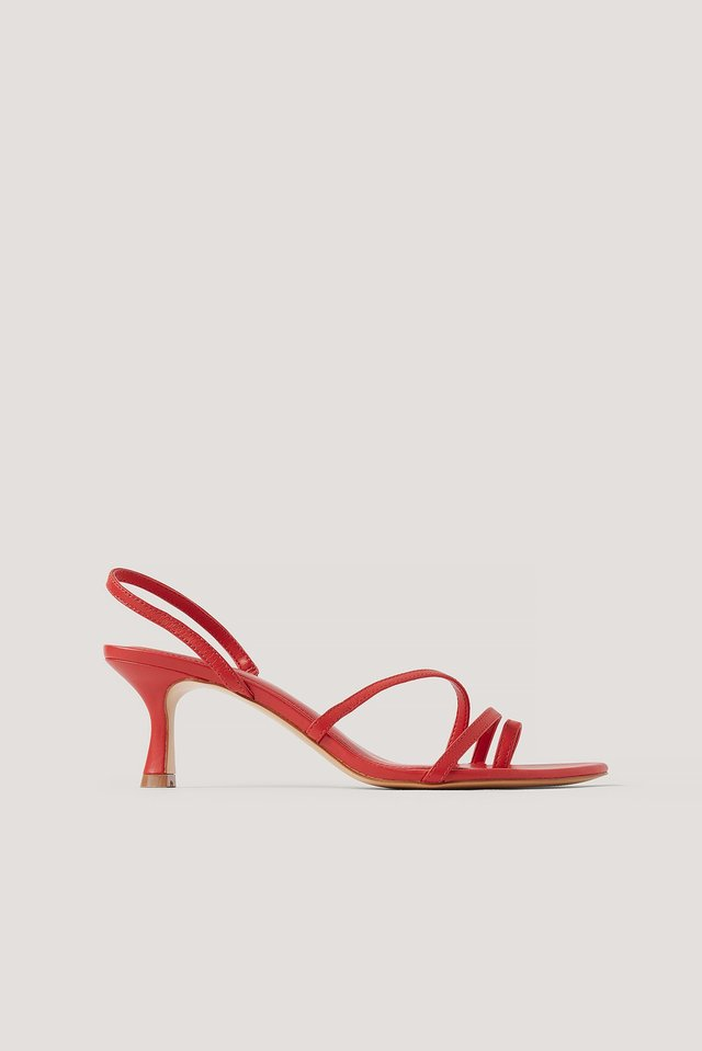 Red Loma Sandals