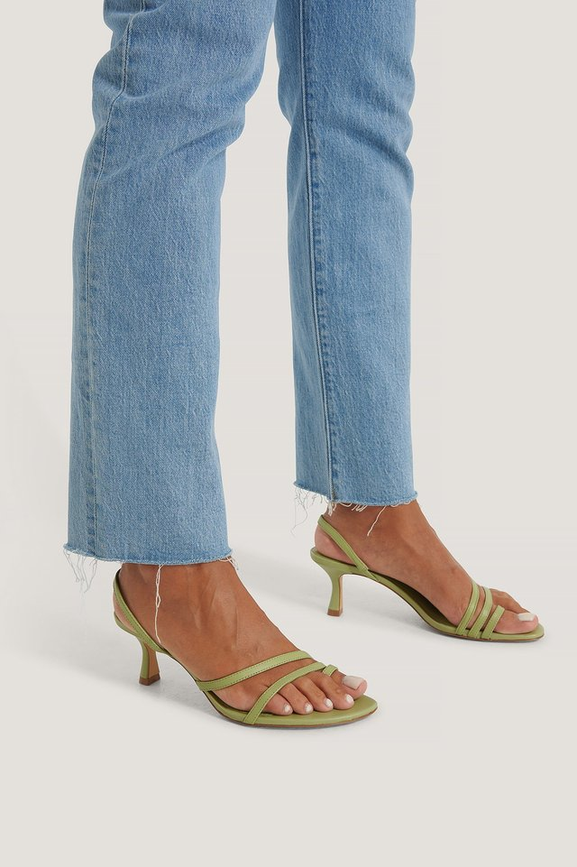 Loma Sandals Green